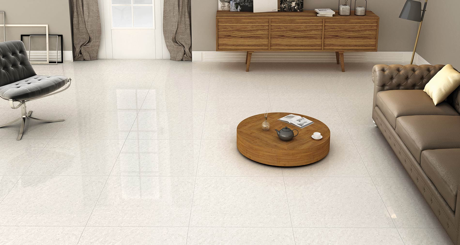 Double Charge Vitrified Tiles Manufacturer In India
