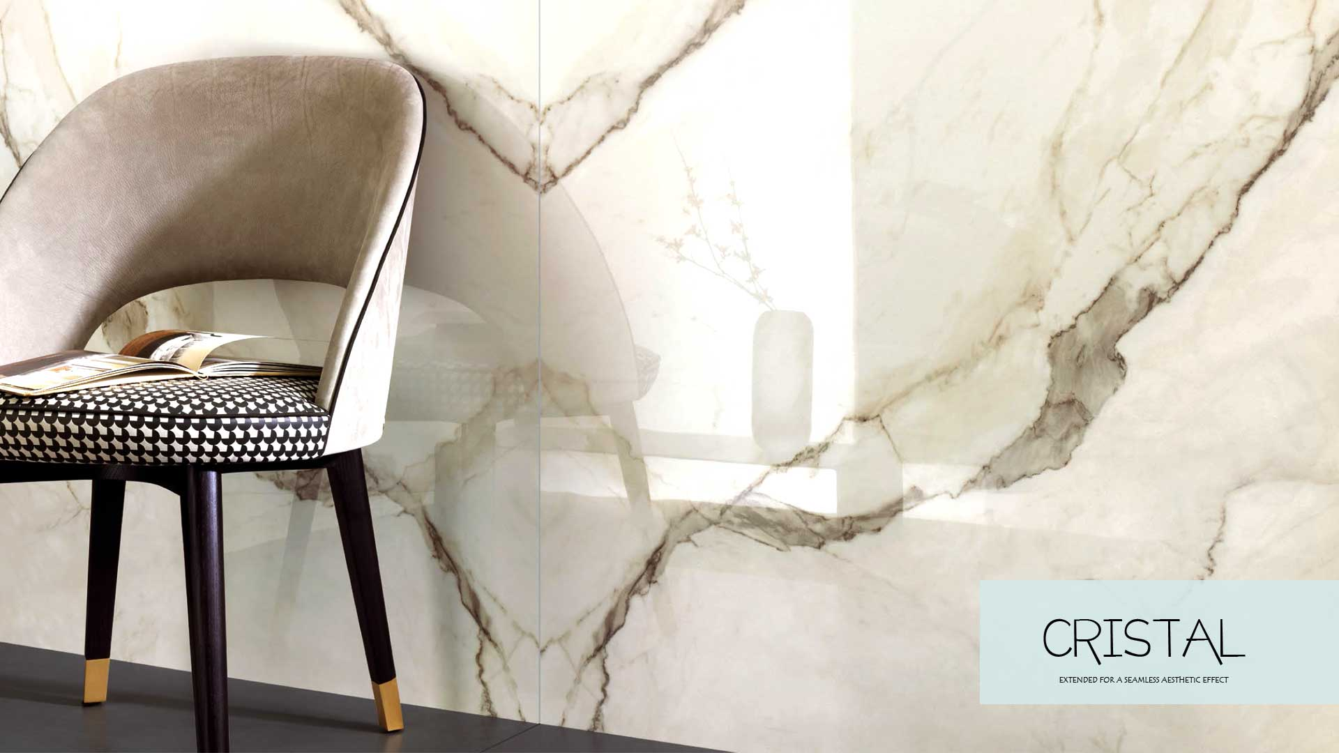fea high gloss polished slab tiles